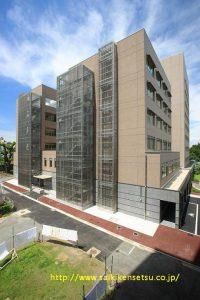 熊本大学(本荘キャンパス)医学部 図書講義棟