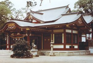 春日神社 本殿