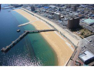 別府港海岸 餅ヶ浜地区 護岸築造