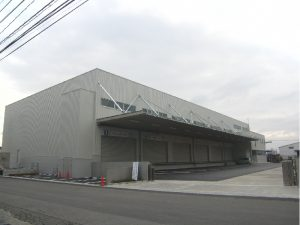 ヤマエ久野株式会社 大分支店:倉庫建替