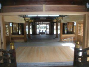 大分縣護國神社中殿増築