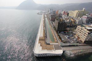 別府港海岸(北浜地区2)上部工築造