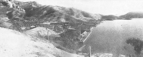 小豆島内海町苗羽(昭和初期)