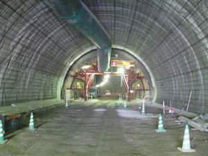 中津第一(はなぐり)トンネル